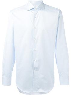 полосатая рубашка стандартного кроя Canali
