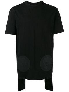 многослойная футболка со шлицей на спине D.Gnak
