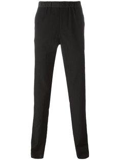 брюки с эластичным поясом Emporio Armani