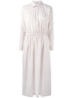 полосатое платье-рубашка  Barena