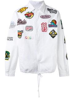 куртка с заплатками Gcds