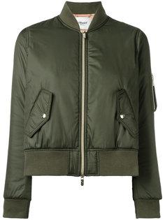 укороченная куртка-бомбер  Blugirl