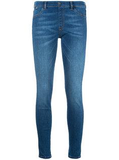 облегающие джинсы Love Moschino
