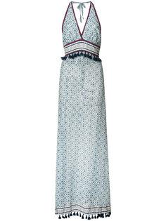 Dainty print halterneck dress Talitha