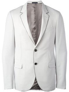 пиджак с контрастной строчкой Lanvin