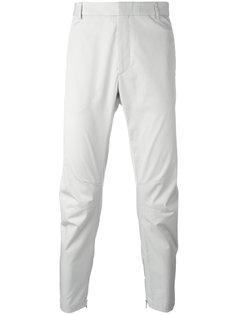 брюки с молниями на щиколотках Lanvin