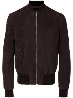 куртка бомбер на молнии Alexander McQueen
