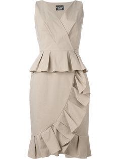 платье с оборками Boutique Moschino