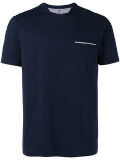 футболка с карманом спереди Brunello Cucinelli