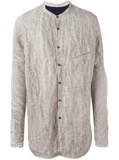 рубашка с жатым эффектом Ziggy Chen