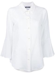 блузка с расклешенными рукавами Moschino