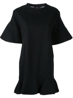 платье-футболка с оборками Goen.J