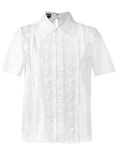 прозрачная кружевная блузка Rochas