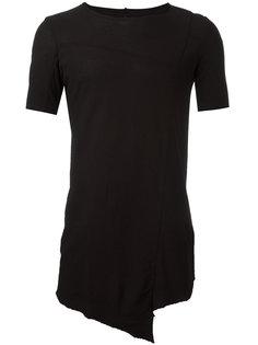 удлиненная футболка Masnada