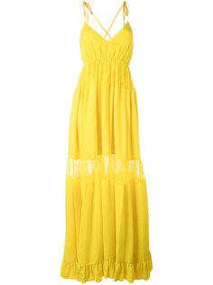 многослойное длинное платье Nº21