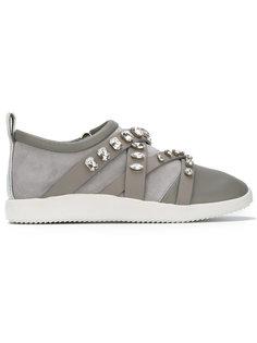 embellished slip-on sneakers Giuseppe Zanotti Design
