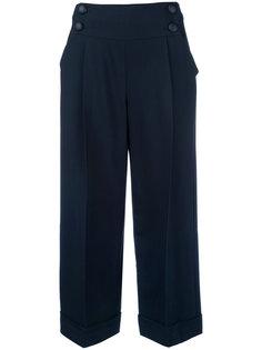 укороченные брюки Armani Collezioni