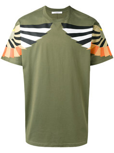 футболка с принтом крыльев Givenchy