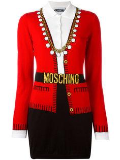 """платье с эффектом """"тромплей"""" Moschino"""