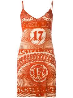 платье мини с принтом Givenchy