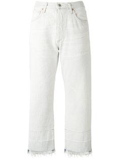 укороченные джинсы прямого кроя Citizens Of Humanity