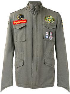 куртка с нашивками History Repeats