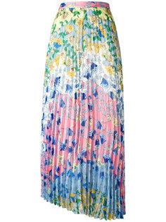 плиссированная юбка с цветочным узором Dondup