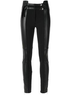 skinny panelled trousers Gloria Coelho
