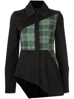 asymmetric panelled jacket Gloria Coelho
