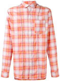 рубашка в клетку Lanvin