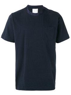 футболка с круглым вырезом Sacai