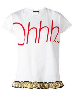 футболка с принтом Ohhh Odeeh