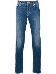 джинсы с потертостями Jacob Cohen