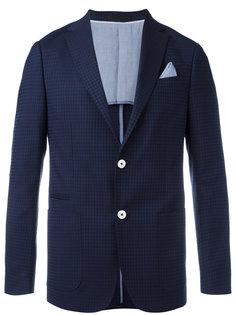 пиджак с вышивкой Z Zegna