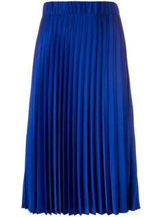 плиссированная юбка длины миди P.A.R.O.S.H.