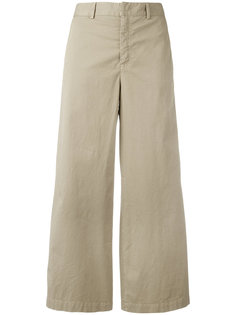 широкие укороченные брюки  Red Valentino