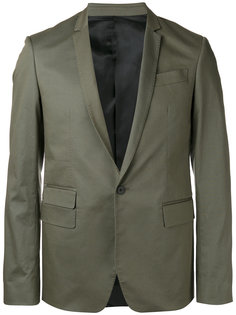 пиджак с простроченной отделкой Les Hommes