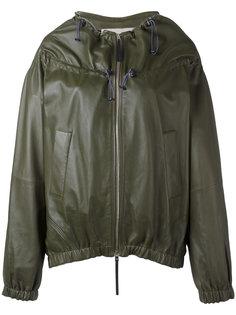куртка на затяжках Marni