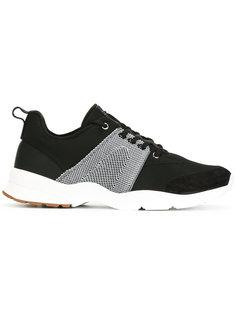 кроссовки с контрастной вставкой Dior Homme