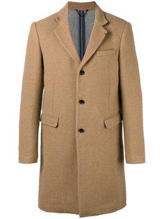 однобортное пальто Diesel