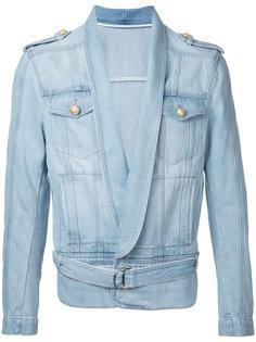 драпированная куртка Balmain