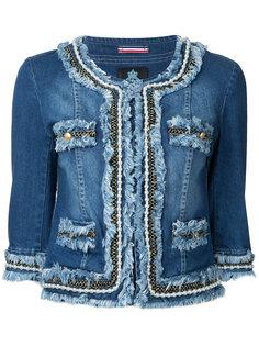укороченная джинсовая куртка Guild Prime