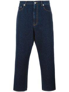 джинсы с заниженной шаговой линией Christopher Kane