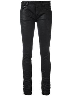 джинсы кроя скинни Diag Scratch Off-White