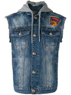 джинсовый жилет Deer Philipp Plein