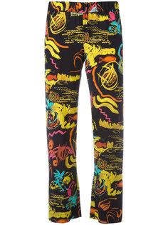 abstract print trousers Aspesi
