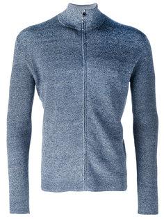 zip-up knitted sweater Corneliani