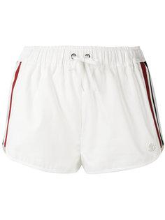 drawstring stripe panel shorts Moncler Gamme Rouge