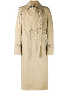 пальто с декоративной шнуровкой Craig Green