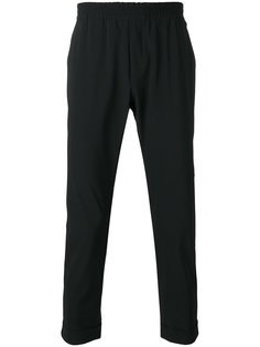 elasticated-waist tailored trousers Hydrogen
